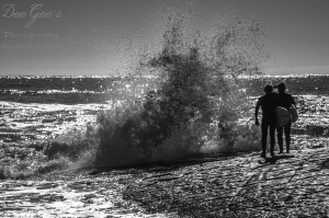 WM B&W Surfers