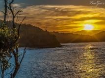 WM Pambula Sunset Postcard