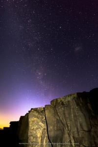 Last Stars Before Dawn at Pulpit Rock
