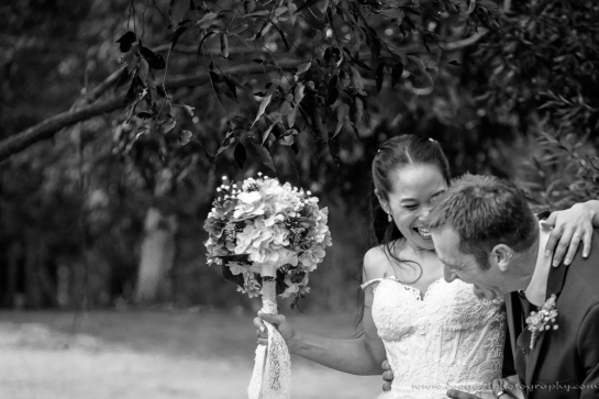 Beck & Josh Wedding B&W small-2